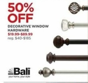 Decorative Window Hardware