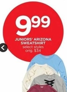 Juniors' Arizona Sweatshirt
