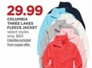 Columbia Three Lakes Fleece Jacket