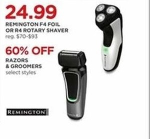Remington R4 Rotary Shaver