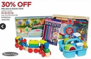 Select Melissa & Doug Toys