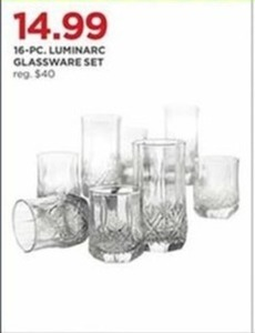 Luminarc 16-Pc. Glassware Set