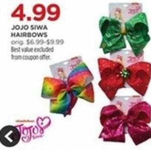 Jojo Siwa Hairbows