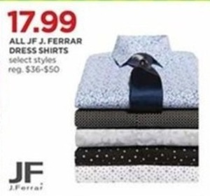 JF J.Ferrar Men's Dress Shirts