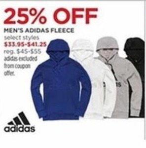 Men's Adidas Fleece Select Styles