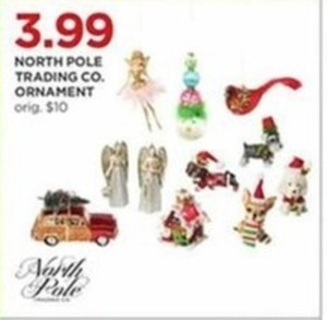 North Pole Trading Co. Ornaments