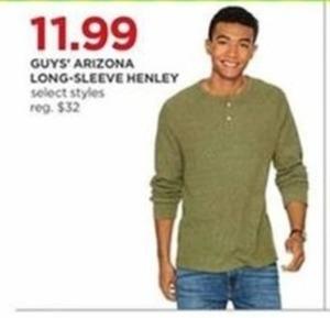 Men's Arizona Long-Sleeve Henley