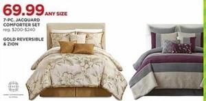 7-Piece Jacquard Comforter Set
