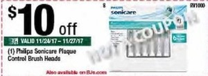 Philips Sonicare Plaque Control Brush Heads
