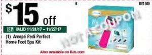 Amope Pedi Perfect Home Foot Spa Kit