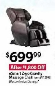 eSmart Zero Gravity Massage Chair