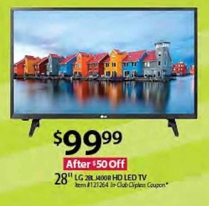 "28"" LG HD LED Tv"