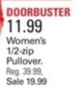 Women's 1/2-Zip Pullover
