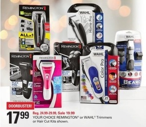 Remington or Wahl Trimers or Hair Cut Kits