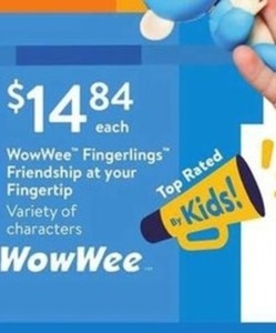 WowWee Fingerlings Friendship at your Fingertip