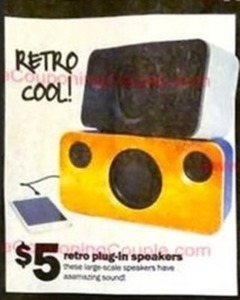 Retro Plug-In Speakers