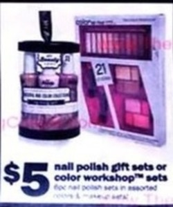 Nail Polish or Color Workshop Gift Sets