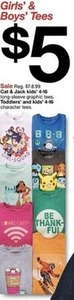 Cat & Jack Kids' Long-Sleeve Graphic Tees