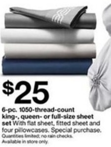 6pc 1050 Thread Count King Queen Or Full Size Sheet Set