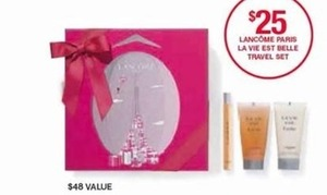Lancome Paris La Vie Est Belle Travel Set
