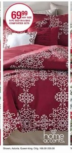 Home Accents 8-Pc Bed In A Bag Comforter Set