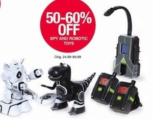 Spy and Robotic Toys