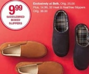 Saddlebred Boxed Slippers