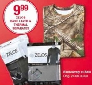 Zelos Base Layer and Thermal Separates