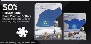 PetSafe Elite Bark Control Collars