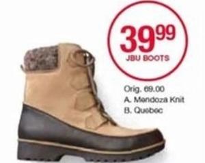 JBU Boots Mendoza Knit
