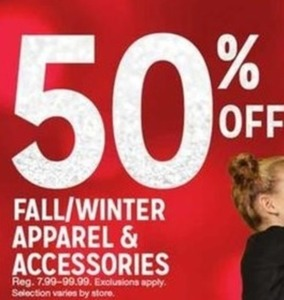 Fall Winter Apparel Accessories
