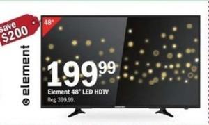 "Element 48"" LEDH HDTV"