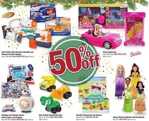 Select Nerf, Playskook, Play-Doh & Disney Toys