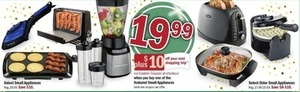 Select Small Appliances + $10 Off Your Next Order