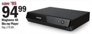 Magnavox 4K Blu-ray Player