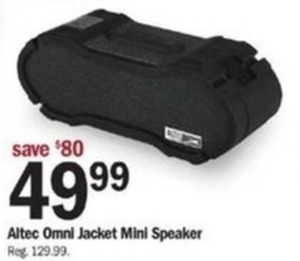 Altec Omni Jacket Mini Speaker