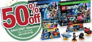 Select LEGO Dimensions