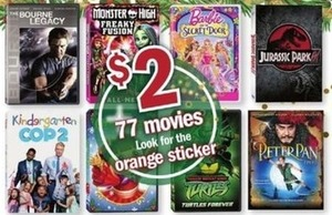 Orange Sticker Movies