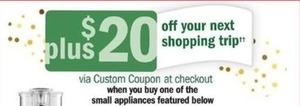 $20 Custom Coupon w/ Select Small Appliance Order