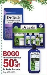 Dr. Teal's Products