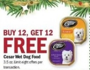 Cesar Wet Dog Food