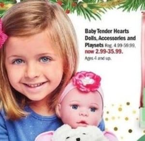 Baby Tender Hearts Dolls Accessories And Playsets