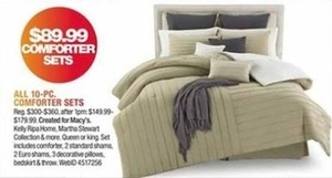 All 10-pc. Comforter Sets