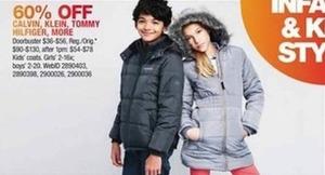 Calvin Klein & Tommy Hilfiger Kids' Outerwear