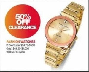 Clearance Fashion Watches