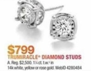Trumiracle Diamond Studs