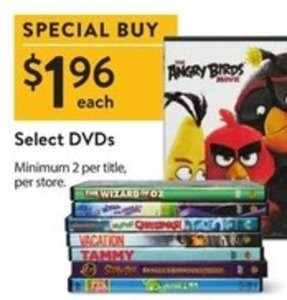 Select DVDs