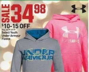 Select Youth Under Armour Fleece