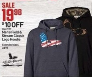 Men's Field and Stream Classic Logo Hoodie