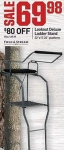 Lookout Deluxe Ladder Stand